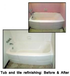 Tub and tile refinishing
